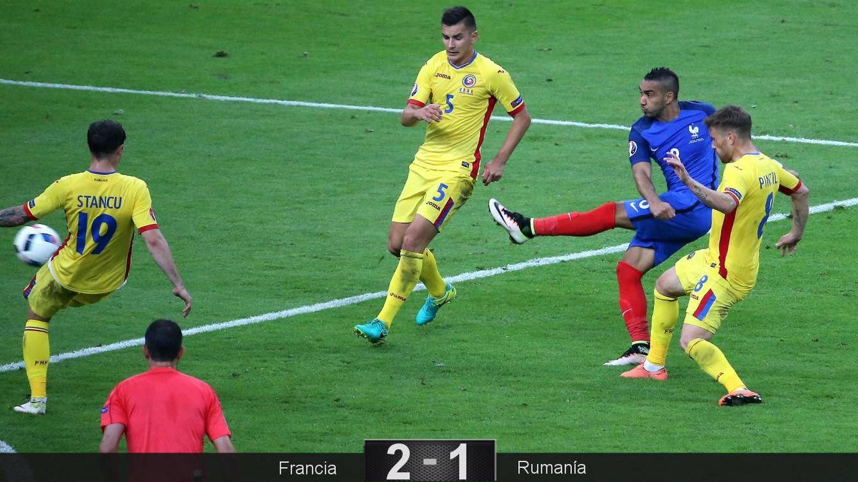 Foto: El gol de Payet (Reuters)