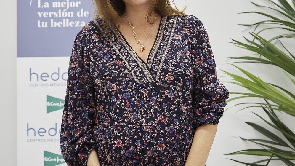 Foto: Lourdes Montes durante en su visita al Centro Hedonai. (Sonia Pueche)