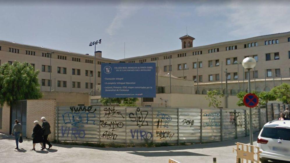 Foto: Reial Monestir Santa Isabel de Barcelona, escuela donde presuntamente ocurrieron los hechos. (Google Maps)