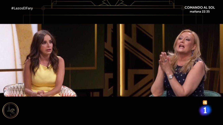 Carmen Alcayde y Elisa Beni, en 'Lazos de sangre'. (RTVE)