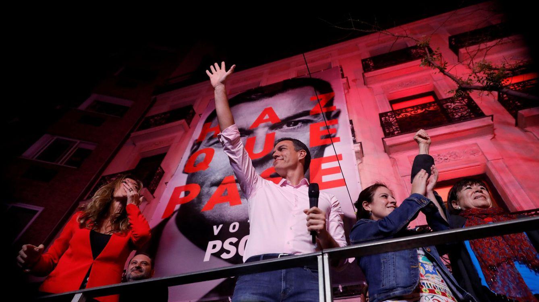 Foto: Pedro Sánchez gana las elecciones generales (EFE)