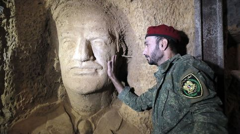Los túneles de los rebeldes sirios se convierten en obras de arte
