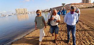 Post de Ribera y Miras escenifican el fin de los desencuentros por la crisis del Mar Menor