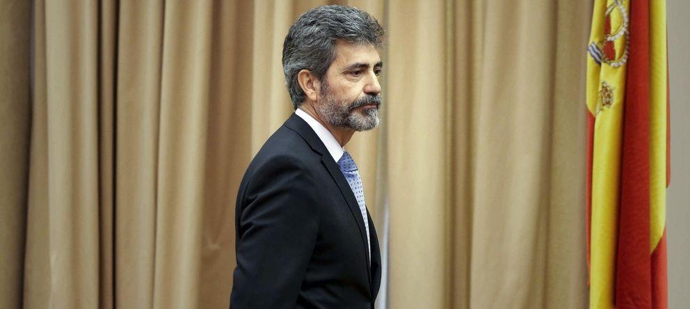 Foto: El presidente del Tribunal Supremo y del Consejo General del Poder Judicial, Carlos Lesmes (EFE)