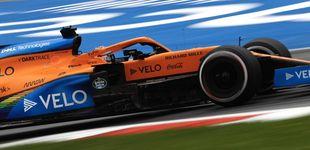 Post de Carlos Sainz y McLaren,