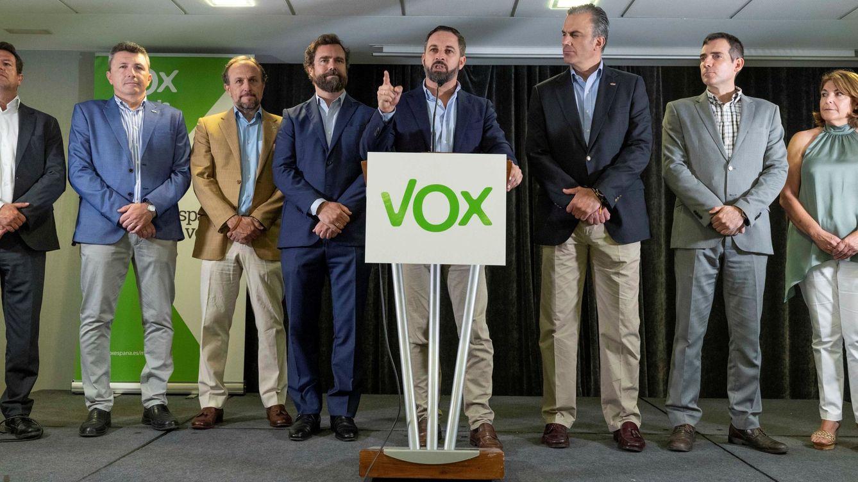 Foto: El presidente de Vox Santiago Abascal. (EFE)
