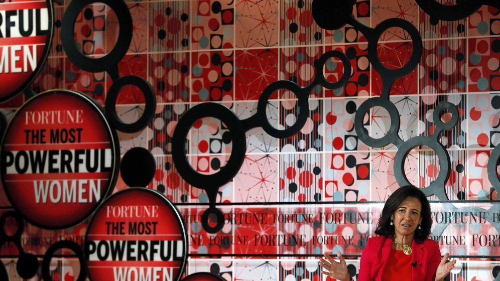 Foto: Ana Botin, presidenta del Banco Santander (Reuters)