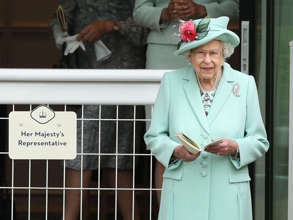 Foto: La reina Isabel, en Ascot. (Reuters)