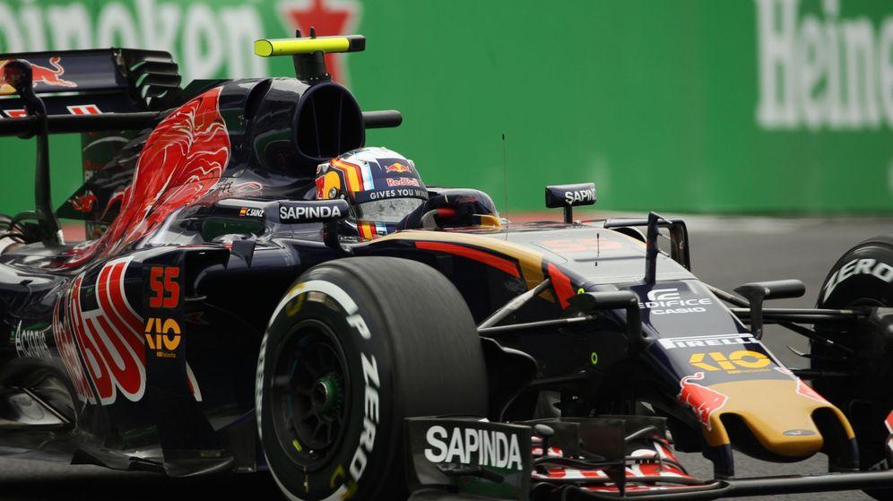 Foto: Carlos Sainz a los mandos de su STR11 en el Autódromo Hermanos Rodríguez.