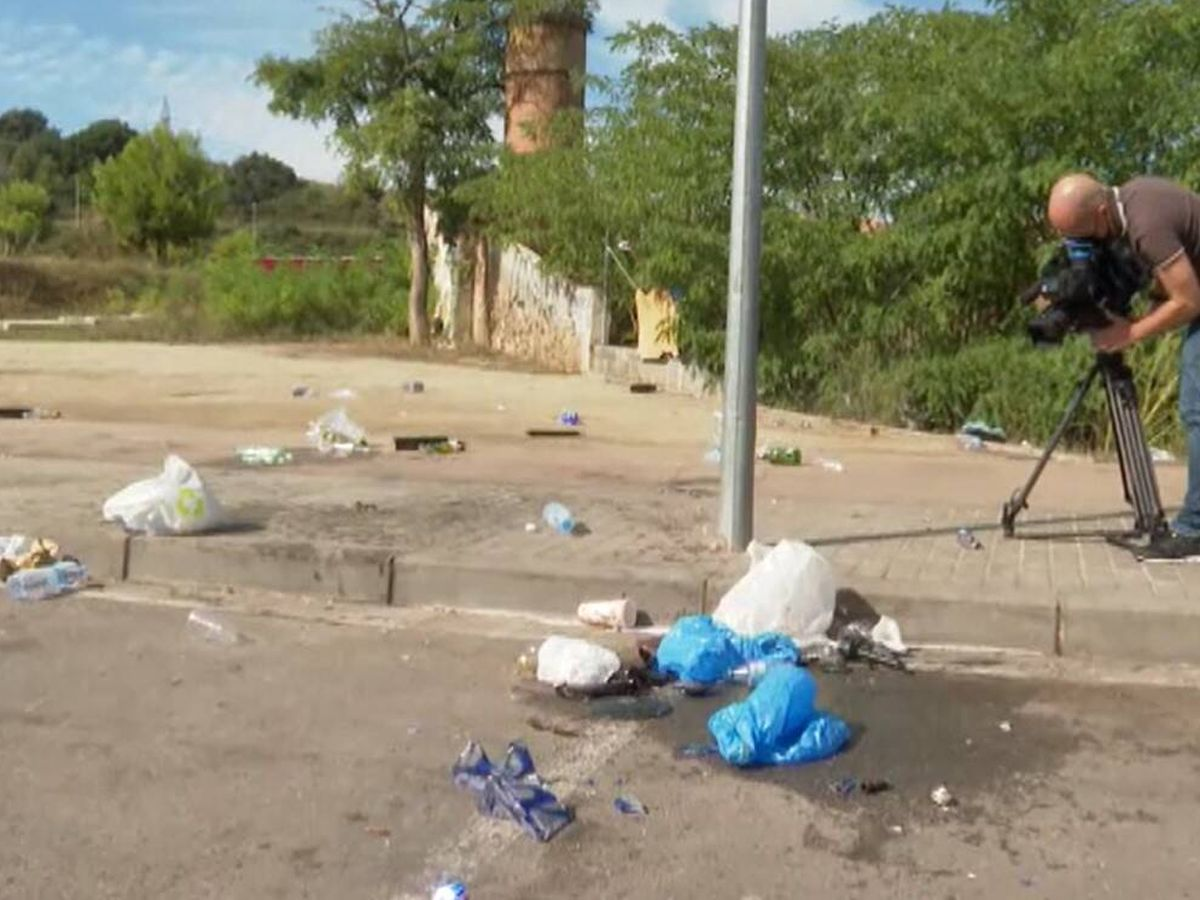 Foto: Lugar donde se produjo el tiroteo en Sabadell. Foto: Atlas