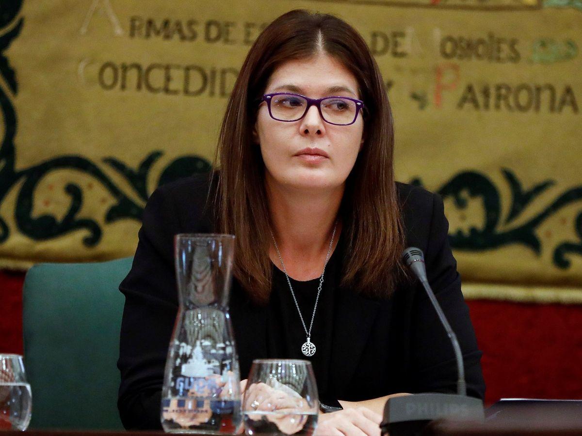 Foto: La alcaldesa de Móstoles, Noelia Posse. (EFE)