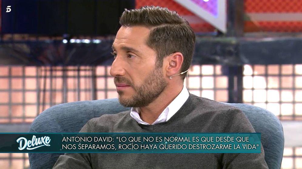 Foto: Antonio David Flores, en 'Sábado Deluxe'. (Telecinco)