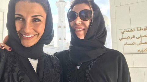 Las novias del Real Madrid se cubren con el hiyab musulmán en Abu Dhabi