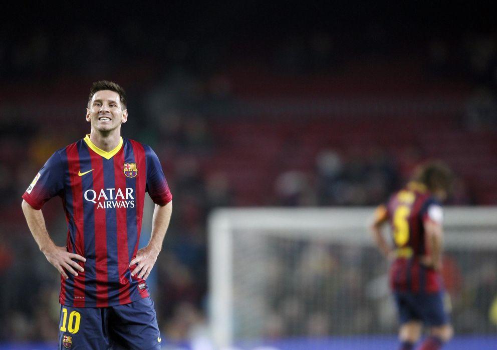 Foto: Leo Messi durante un partido de la presente temporada (Reuters).