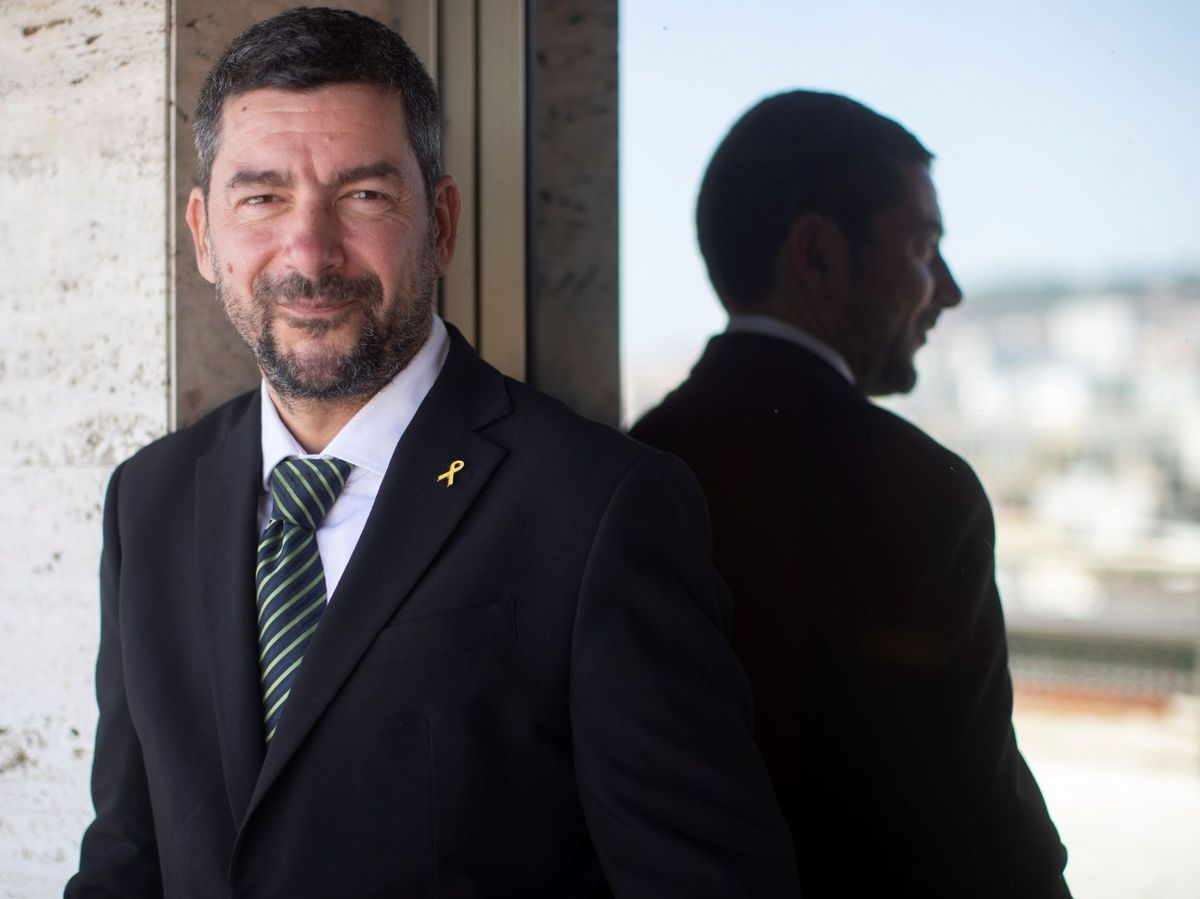 Foto: El presidente de la Cambra de Barcelona, Joan Canadell. (EFE)