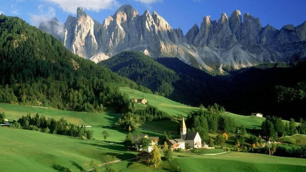 Foto: Alpes suizos.