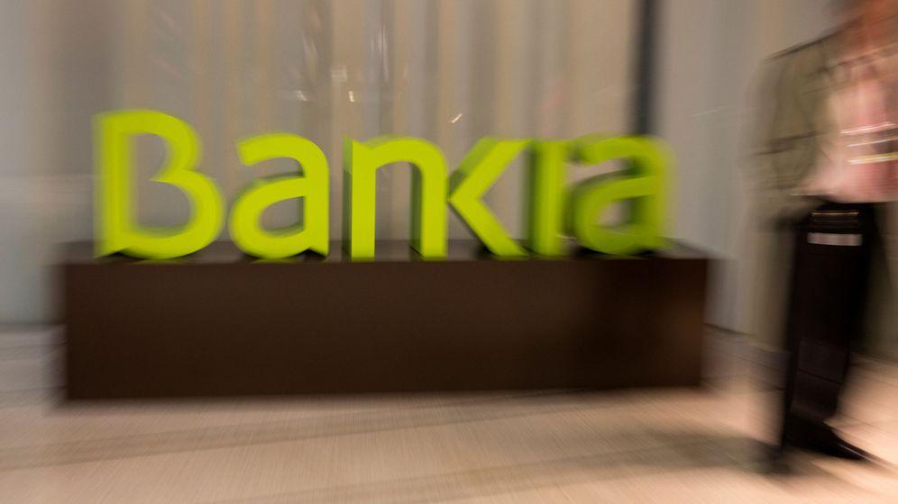 Foto: Logo de Bankia en la sede del banco. (Reuters)