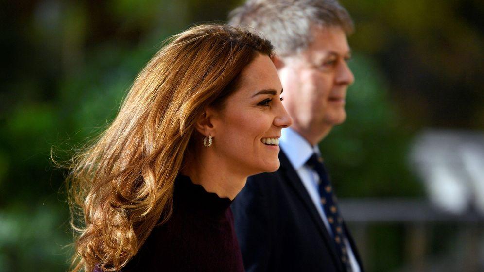 Foto: La duquesa de Cambridge, este miércoles. (Reuters)