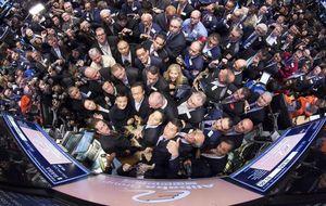 Las bolsas europeas se tiñen de rojo a la espera de Mario Draghi