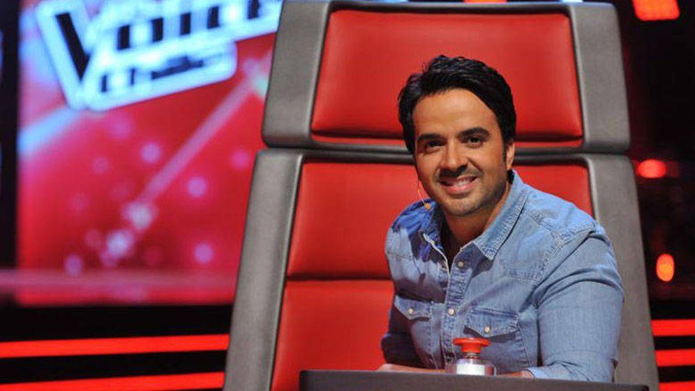 Foto: El cantante Luis Fonsi, en 'The Voice Chile'. (13)