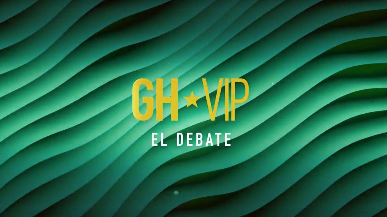 Logotipo de 'GH VIP 7: el debate'. (Mediaset)