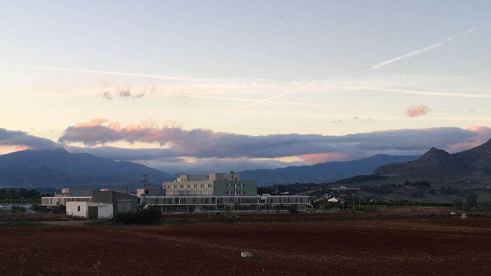 Foto: Vista del hospital de la comarca del Guadalhorce. (A. Rivera)
