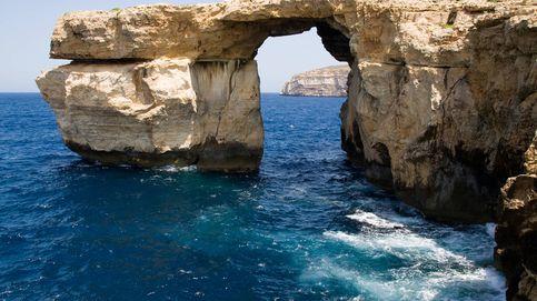 La Ventana Azul, la maravilla natural de Malta que ha destruido el temporal