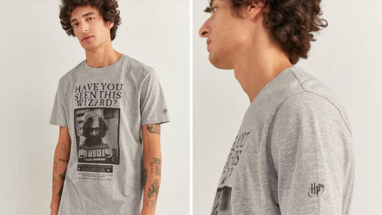Camiseta de Harry Potter de Springfiel. (Cortesía)