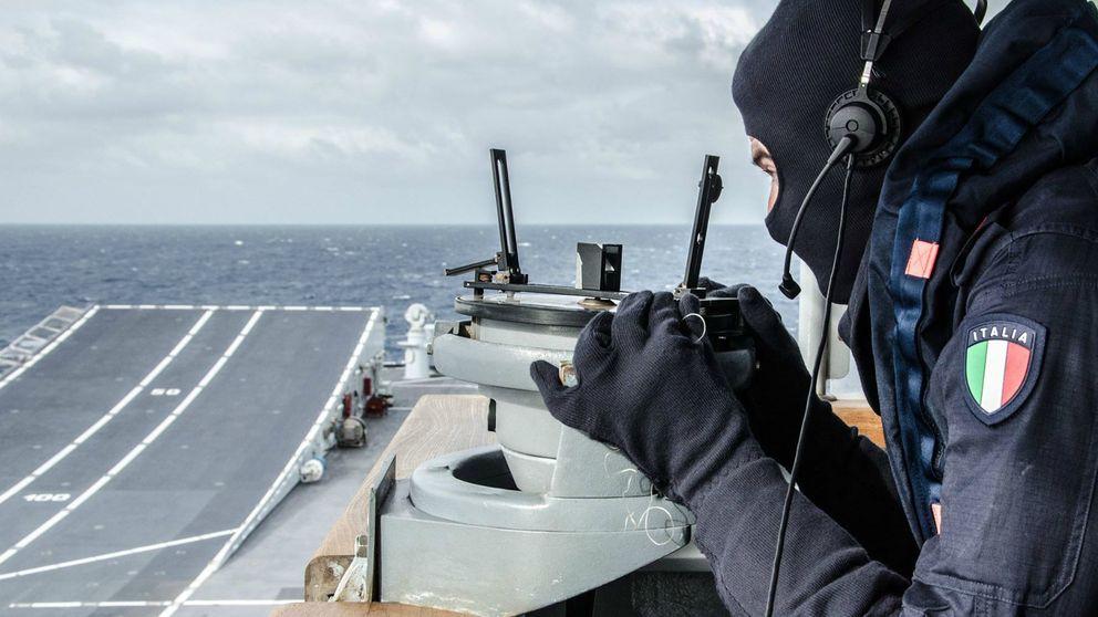 Las fuerzas navales de la UE, cada vez más cerca de actuar en Libia