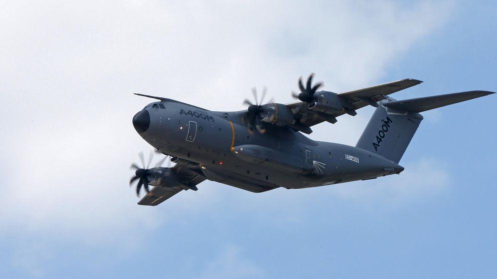 Foto: Un Airbus A400M. (Reuters)