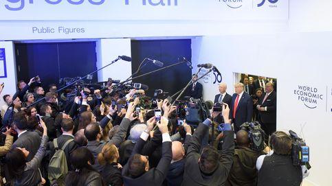 Trump asiste al 50º Foro de Davos