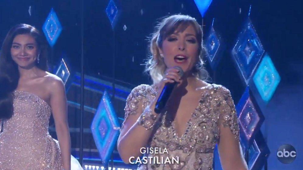 Foto: Gisela, interpretando el tema de 'Frozen II' en la gala de los Premios Oscar