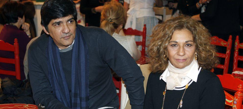 Foto: La cantante Lolita Flores y Pablo Durán en una imagen de archivo (Gtres)