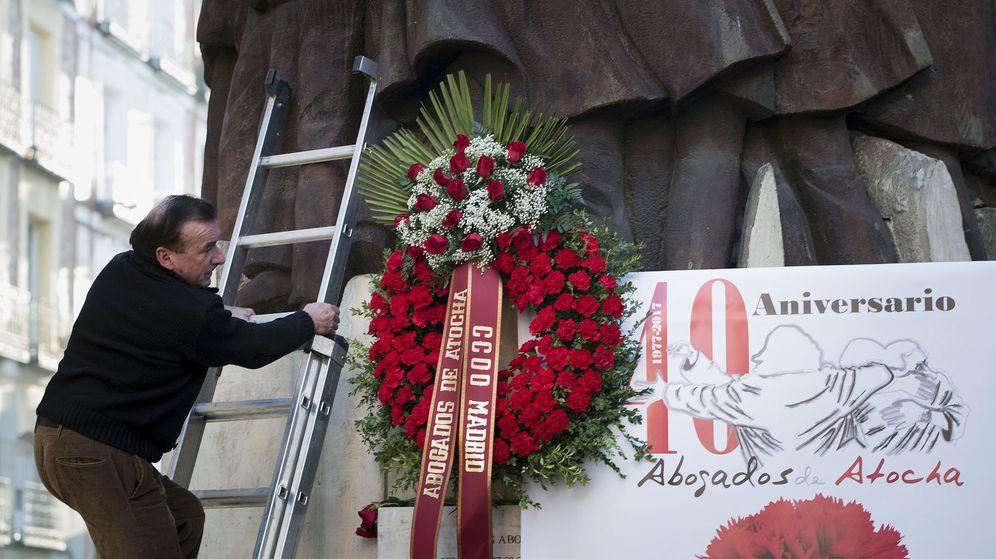 Foto: Homenaje a los abogados de Atocha. (EFE)
