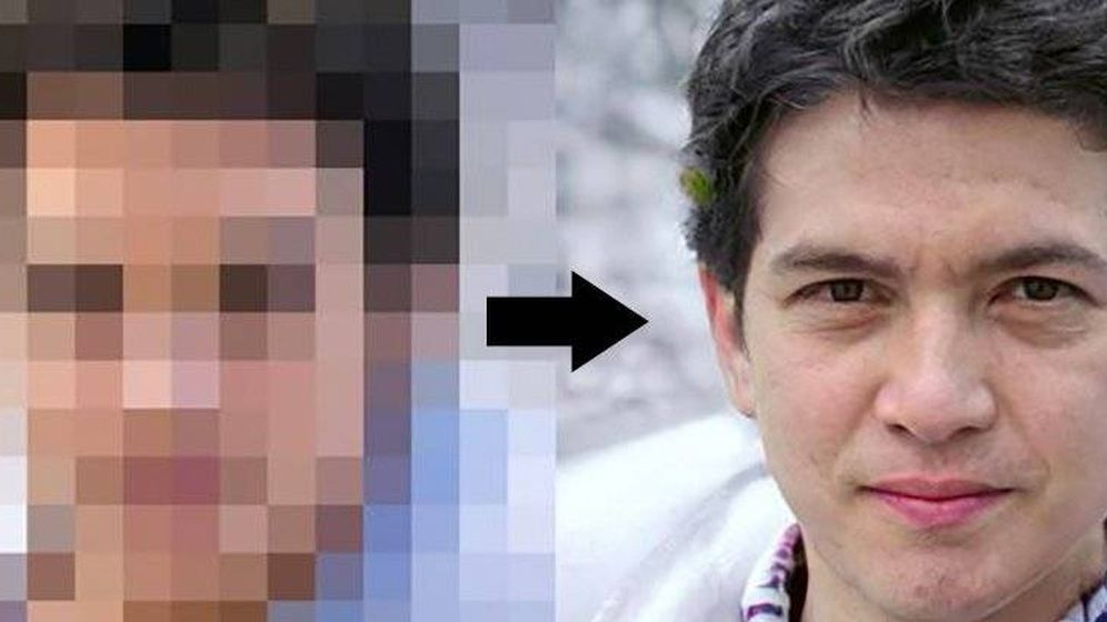Foto: Una foto a partir de una cara pixelada con PULSE. Foto: Youtube
