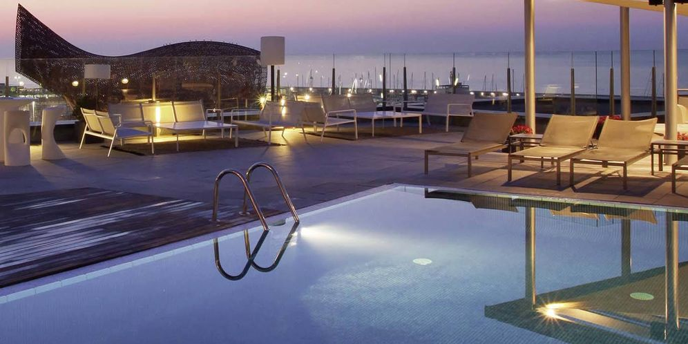 Foto: Piscina del hotel AB Skipper. (Web corporativa)