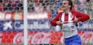 Post de El Atlético recupera la plaza Champions gracias a tres zarpazos de acento francés