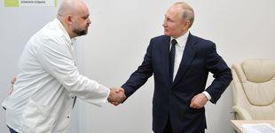 Post de Putin se pasa al teletrabajo tras estar en contacto con un médico infectado