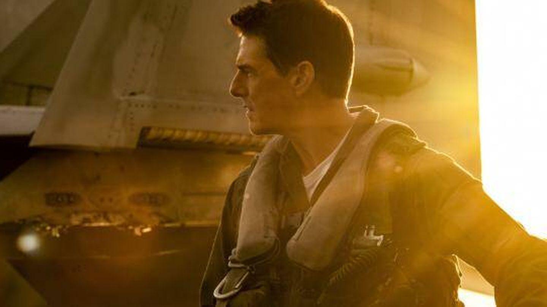 Tom Cruise, en la secuela de 'Top Gun'. (Paramount)