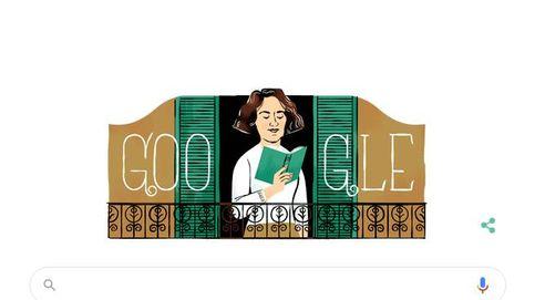 Google rinde homenaje a la escritora Carmen Laforet con un 'doodle' en el centenario de su muerte