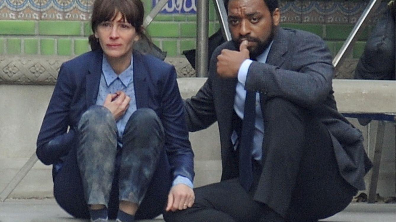 Foto: Julia Roberts llora durante el rodaje de la película 'The secret in their eyes' (Gtres)