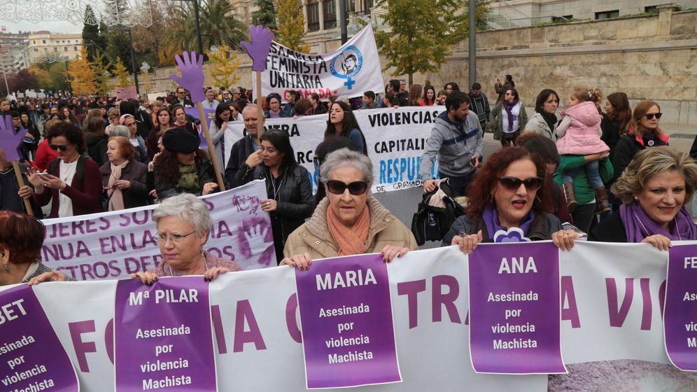 Foto: Manifestación del Día Internacional contra la Violencia de Género. (EFE)