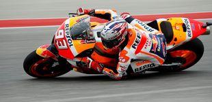 Post de El bofetón de realidad de Márquez en el mundial de MotoGP
