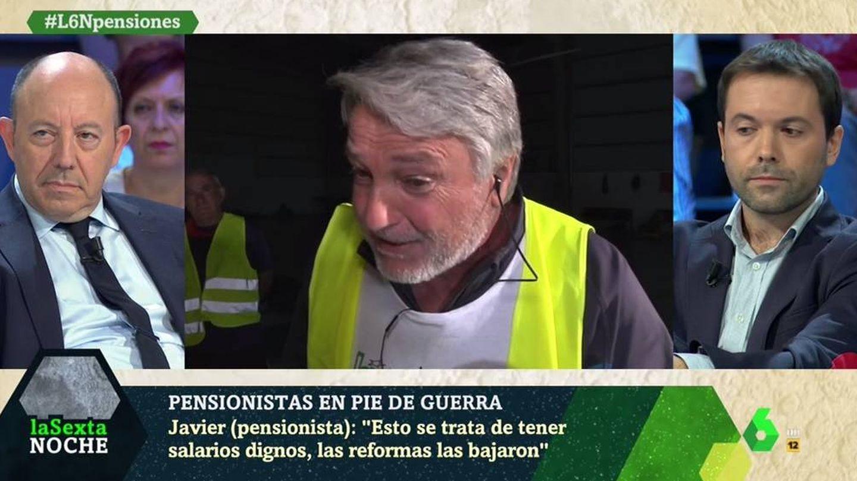 Gonzalo Bernardos y Juan Ramón Rallo, en 'La Sexta noche'. (Atresmedia).
