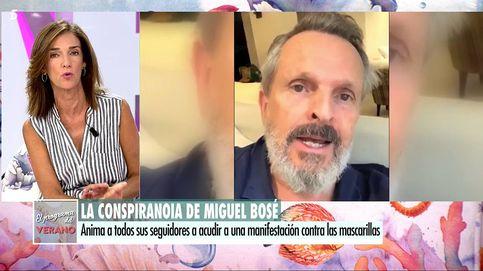 Paloma García Pelayo dispara contra Bosé por su protesta antimascarilla