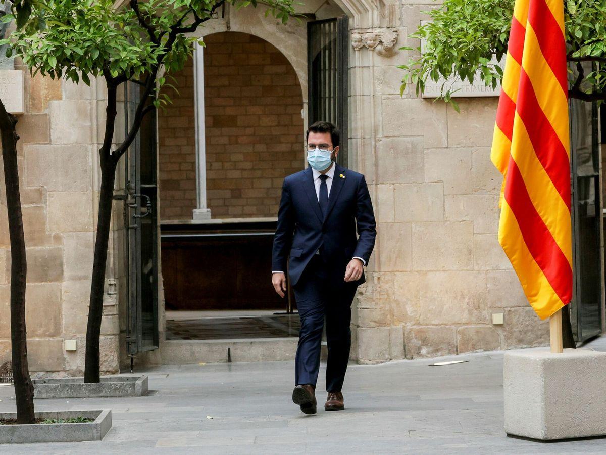 Foto: Pere Aragonés, presidente de la Generalitat. (EFE)