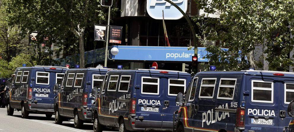 Foto: La sede del PP en Madrid (EFE)