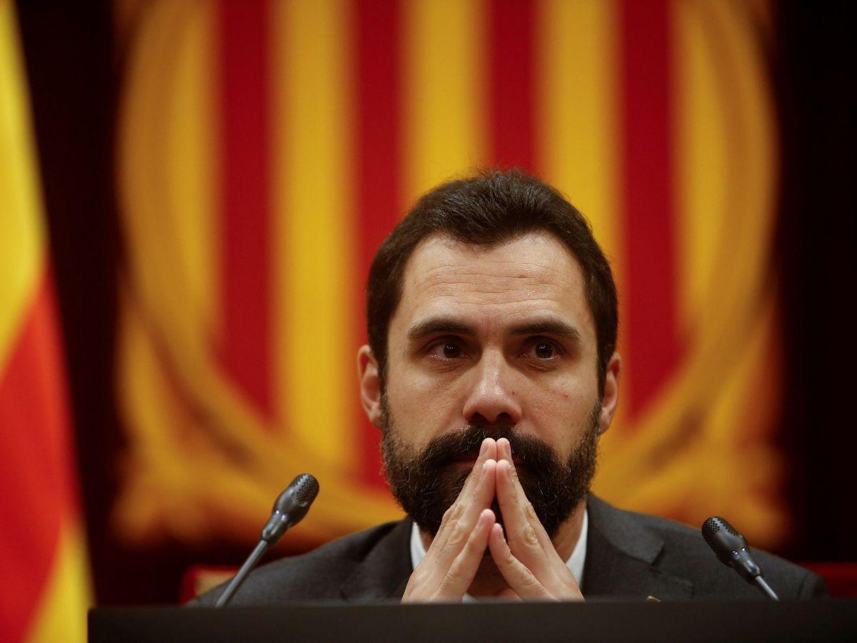 Foto: El presidente del Parlament de Cataluña, Roger Torrent. (EFE)