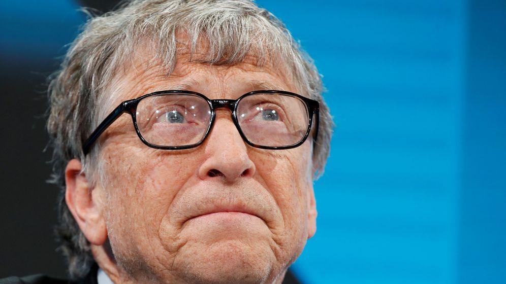 Foto: Una reciente foto de Bill Gates en el Foro Económico de Davos. Foto: REUTERS Arnd Wiegmann