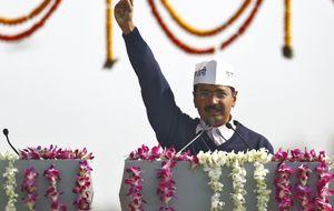 El 'indignado' que gobernará Nueva Delhi